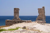 Ancient remains on Samos — Stock Photo