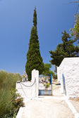 Graveyard on Samos — Stock Photo