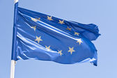 European flag — Stock Photo
