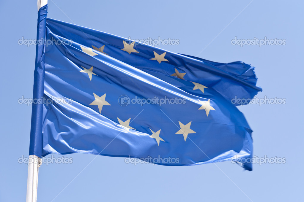 European flag — Stock Photo #10080326