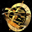 Stock Photo: Armillary sphere