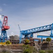 Shipyard — Stock Photo