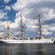 Gorch fock - Stockfoto