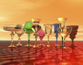 Goblets — Stock Photo