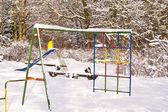 Snow covered — Stock Photo