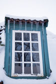 House in snowy winter — Stock Photo