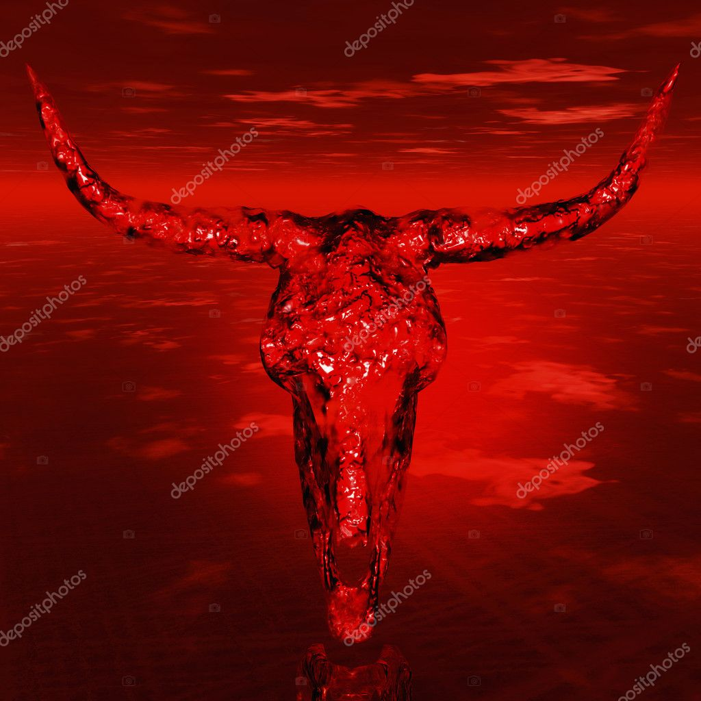 Digital visualization of a skull — Stock Photo #10092607