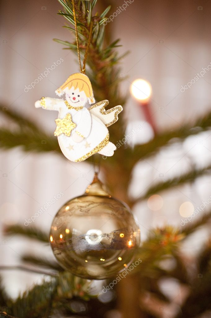 Close up of christmas decoration — Stock Photo #10099060