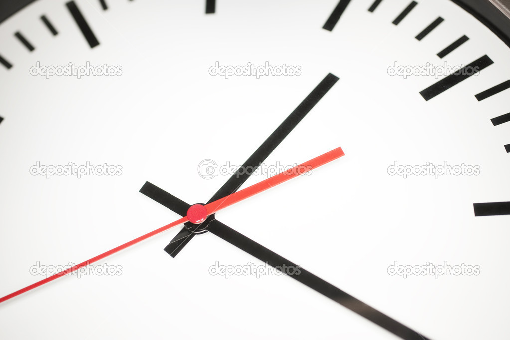 Close up of a clock — Stock Photo #10099288