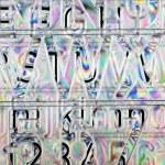 Lettering stencil — Stock Photo #10101586