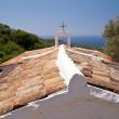 Chiesa greco — Foto Stock
