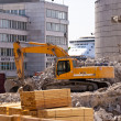Stock Photo: Demolition Building
