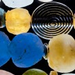Glass beads - Foto Stock