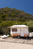 Caravan on Samos — Stock Photo