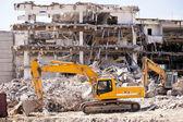 Bâtiment de démolition — Photo