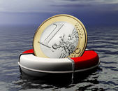 Euro hurda — Stok fotoğraf
