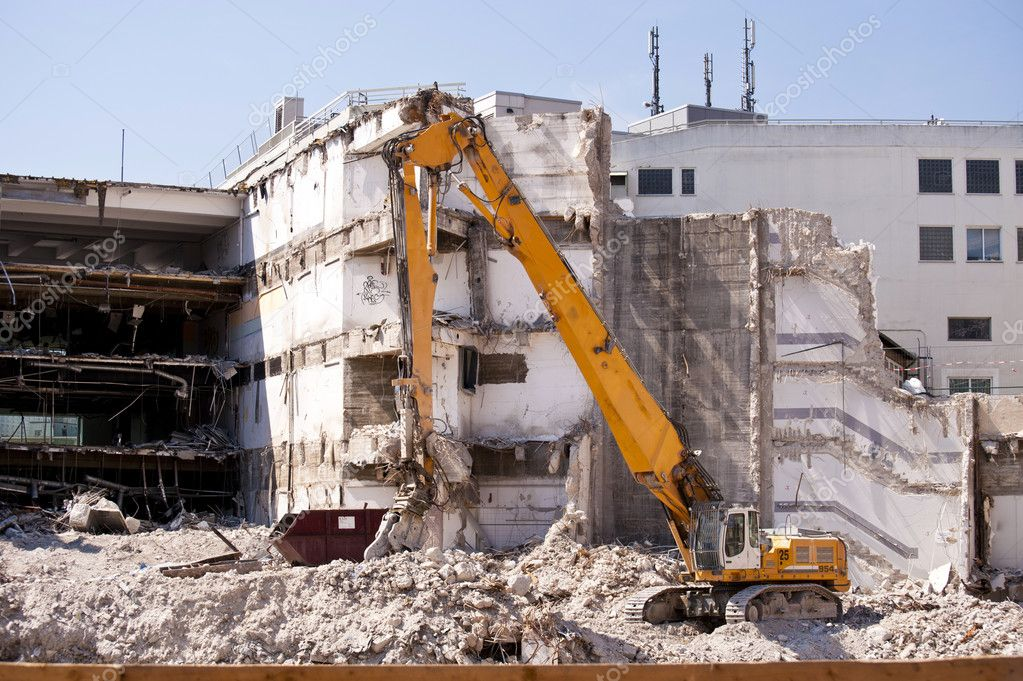 Demolition Building — Stock Photo #10104462