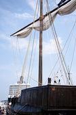 Hanseatic cog — Stock Photo