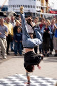 Break dancer — Stock Photo
