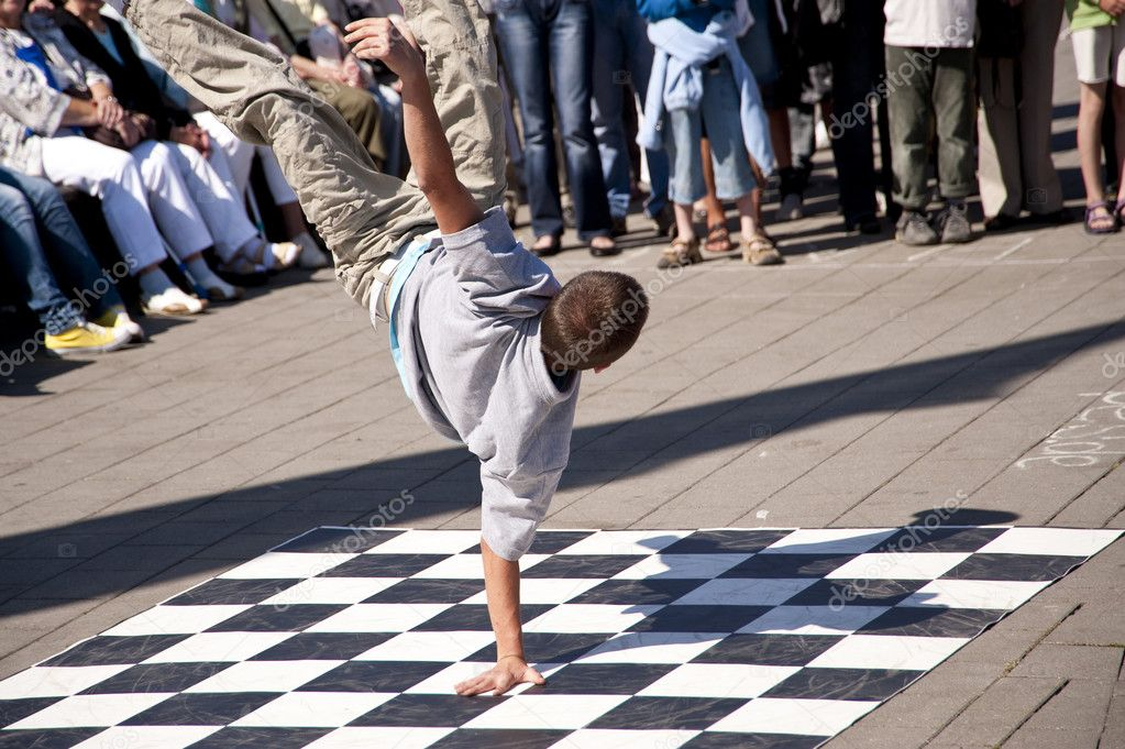Break dancer  — Stock Photo #10116915
