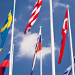 Flags - Foto Stock