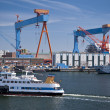 Port of Kiel — Stockfoto
