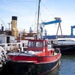 Port of Kiel — Stock Photo #10144218