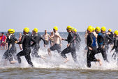 Triathlon — Foto Stock