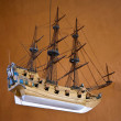 Ship model — Stock Photo