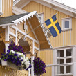 Stock Photo: Swedish house
