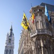 City hall of ghent — Stock Photo