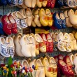 Clogs in amsterdam — Stock Photo