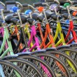 Bicycles hdr — Stockfoto #10158228