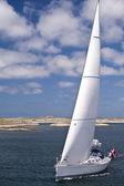 Sailing yacht — 图库照片