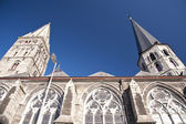 Cathedral in ghent — Stock Photo