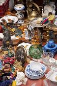 блошиный рынок — Стоковое фото