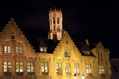 Bruges by night — Stock Photo