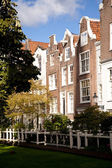 Beguinage in amsterdam — Stock Photo