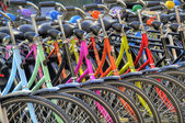 Bicycles hdr — 图库照片
