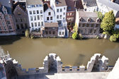 Burg in gent — Stockfoto