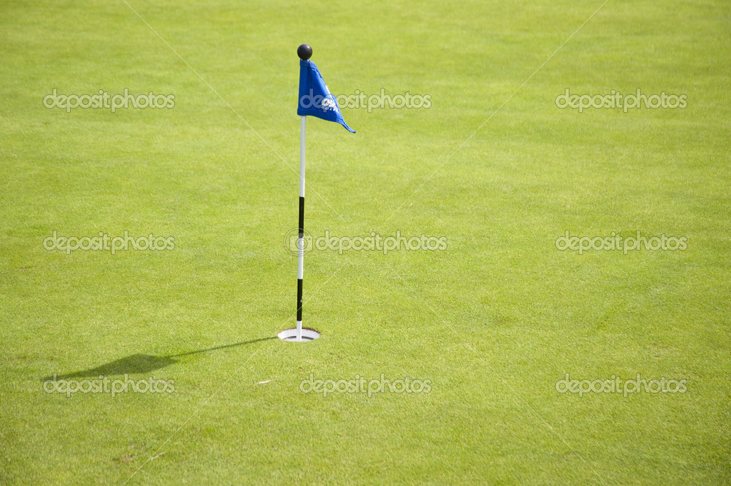 Golf course, — Stock Photo #10150840