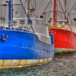Stock Photo: Fishing Ships