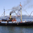 Stock Photo: Steamer
