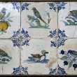 Faience tiles - Stock Photo