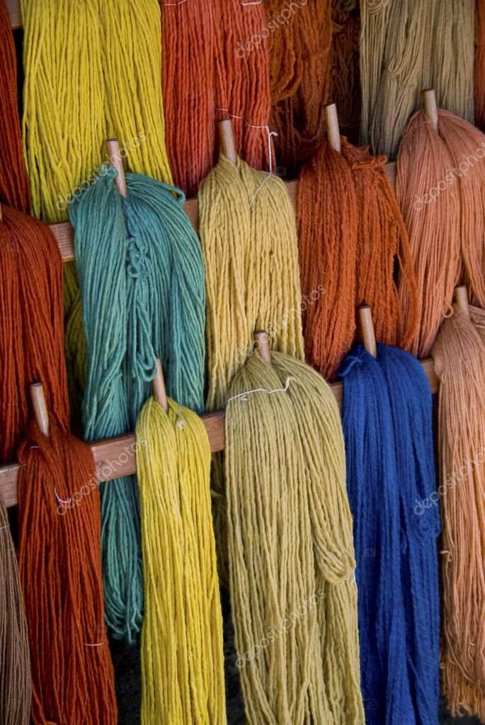 Detail of colored wool — Stock Photo #10163388