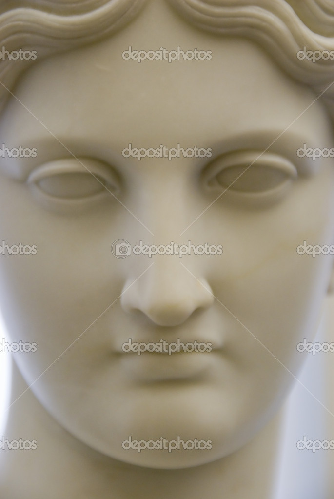 Detail of a classical sculpture — Stock Photo #10163894