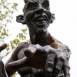 Stock Photo: Demonic sculpture