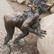 Demonic sculpture — Stock Photo