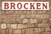 Brocken — Stock Photo