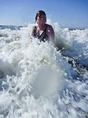 Bathing Woman — Stock Photo